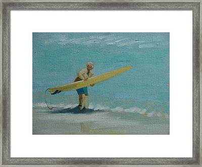 Ready To Launch  No 1 Framed Print by Robert Rohrich