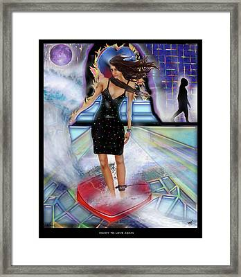 Ready To Love Again Framed Print