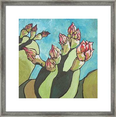 Ready To Open Framed Print