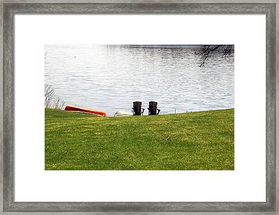 Ready To Relax Framed Print by Amelia Painter
