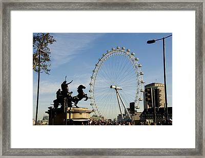 Ready To Ride Framed Print by Charles  Ridgway