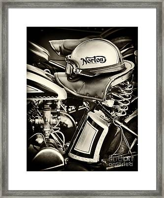 Ready To Ride Framed Print by Tim Gainey
