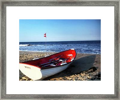 Ready To Row Framed Print