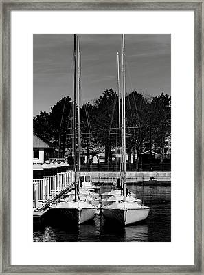 Ready To Sail Framed Print