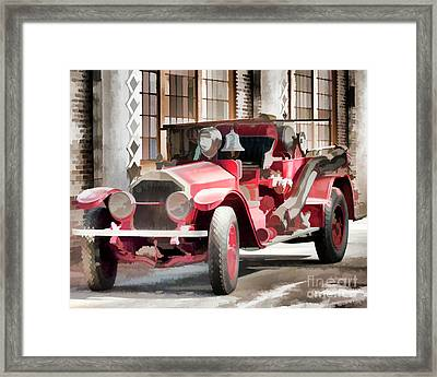 Ready To Serve Again Framed Print by Wilma Birdwell