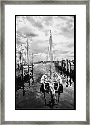 Ready To Set Sail Framed Print