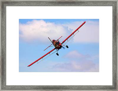 Ready To Spray - Crop Duster - Ag Pilot - Arkansas Razorbacks Framed Print