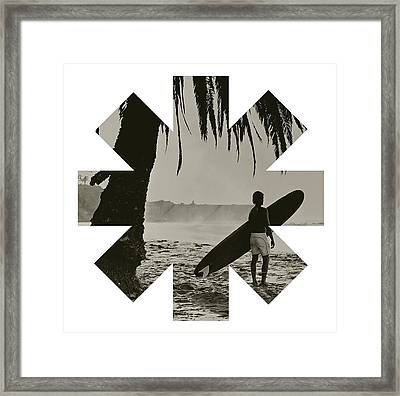 Ready To Surf Framed Print by Rhcp