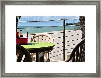 Ready When You Are 2 Framed Print by John Hintz