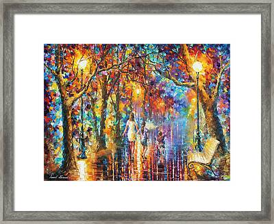 Real Dreams   Framed Print by Leonid Afremov