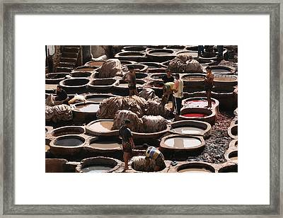 Real Hard Work Framed Print by Andrei Fried