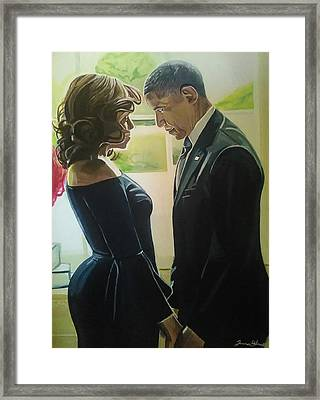 Real Love Framed Print