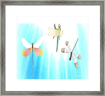 Realization Of Life Framed Print