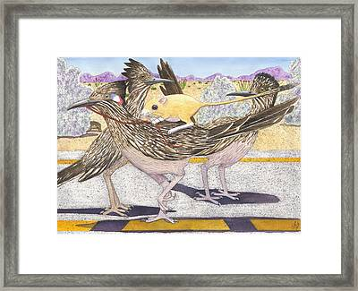 Really? Framed Print by Catherine G McElroy