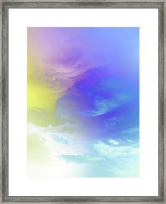 Realm Of Angels Framed Print