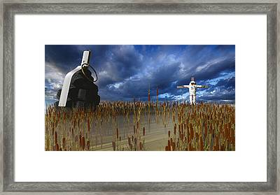 Reap What You Sow Framed Print