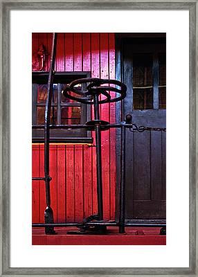 Rear Platform Framed Print