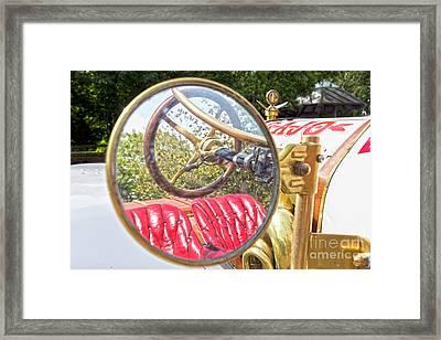 Rear View Mirror Framed Print