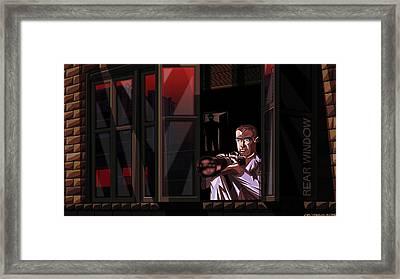 Rear Window Framed Print by Jason Diesbourg