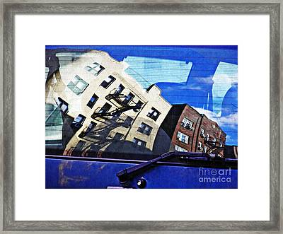 Rear Window Framed Print by Sarah Loft
