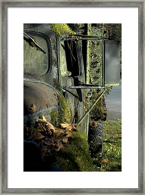 Rearview Framed Print