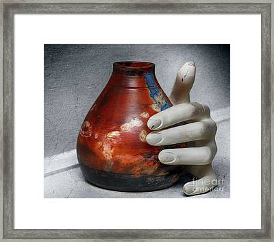 Reason And Perspective  Framed Print by Steven Digman