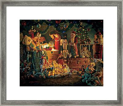 Reason For The Season Framed Print