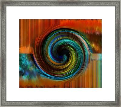 Reasoning Framed Print by Gwyn Newcombe