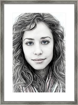 Rebecca Framed Print