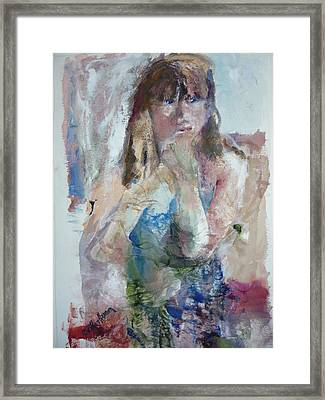 Rebecca Framed Print by Dorothy Herron