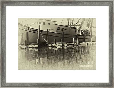 Rebel And A Pirate Framed Print