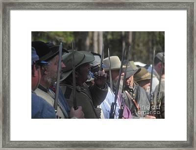 Rebel Bayonets Framed Print by David Lee Thompson