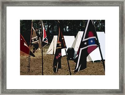Rebel Camp Framed Print