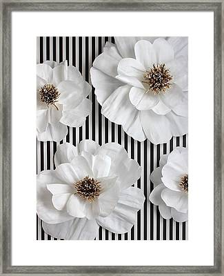 Rebel Chic Framed Print by The Painted Petaler