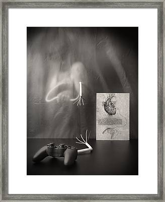 Rebel Heart Framed Print by Vito Guarino