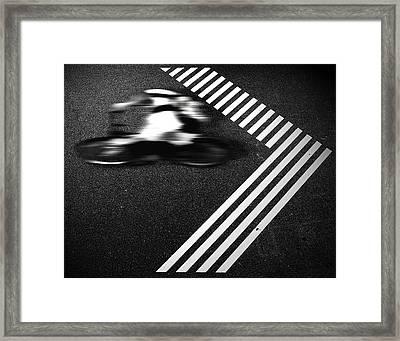 Rebel Framed Print by Michael Koster