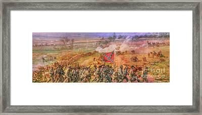Rebel Yell Gettysburg Framed Print