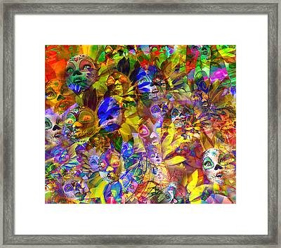 Rebelation  Framed Print by Betsy Knapp