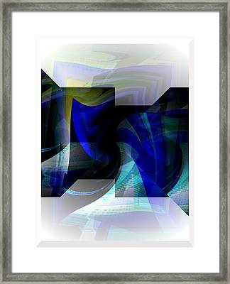 Transparency 2 Framed Print
