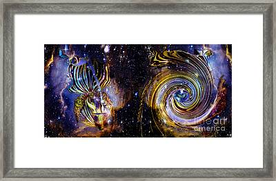 Rebirth And Eternity Framed Print