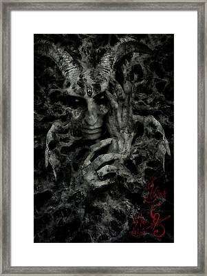 Rebirth Framed Print by Cambion Art