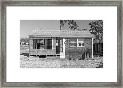 Framed Print featuring the photograph Rebirth Cape Cod Cottage by Edward Fielding