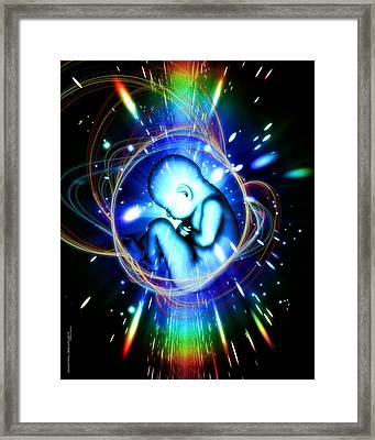 Rebirth Framed Print by Dreamlight  Creations