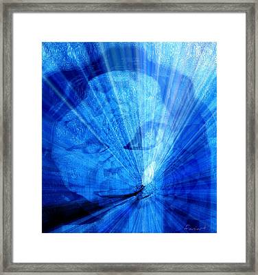 Framed Print featuring the painting Rebirth by Fania Simon