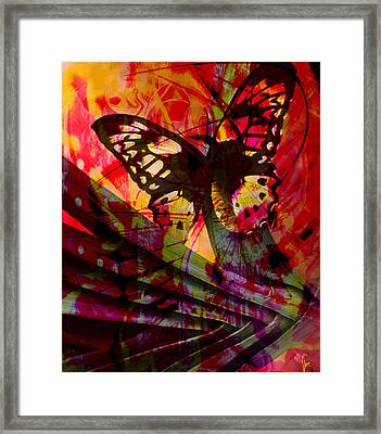 Framed Print featuring the photograph reBirth by Ken Walker