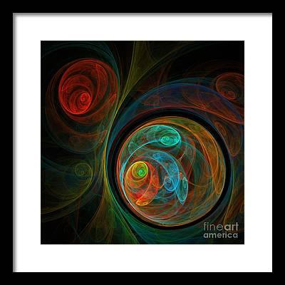 Fine Art Digital Art Framed Prints