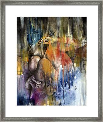 Rebirth Framed Print by Patricia Ariel