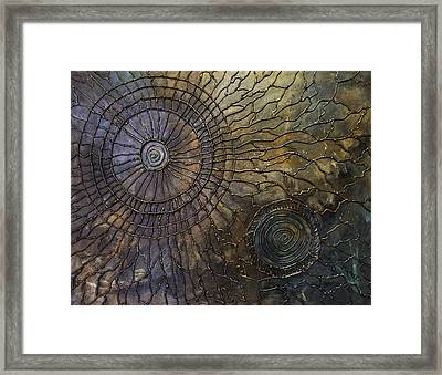 Framed Print featuring the painting Rebirth by Patricia Lintner