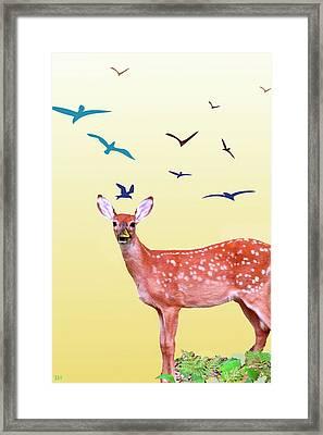 Reborn Spring Framed Print by Debra     Vatalaro