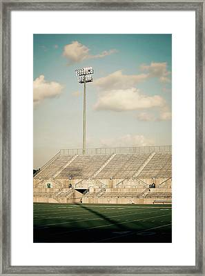 Framed Print featuring the photograph Recalling High School Memories by Trish Mistric